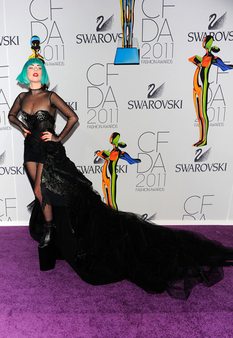 lady gaga 2011 cfda. Lady+Gaga+2011+CFDA+Fashion+
