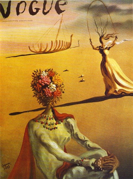 Vintage Vogue by Dali