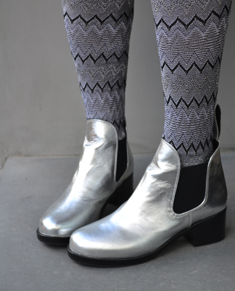 Shiny Disco Boots