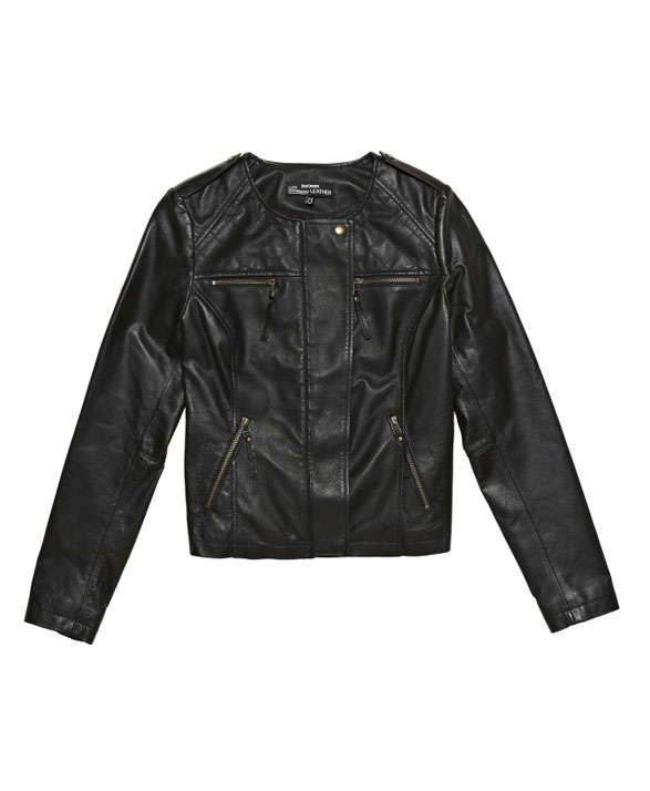 One of the best tips Jo gave me was to head into Just Jeans for a genuine leather jacket like this one (RRP $199). All their leather jackets come in under