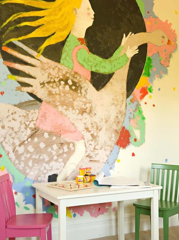 How To: Decorate A Kid's Playroom - Part 1