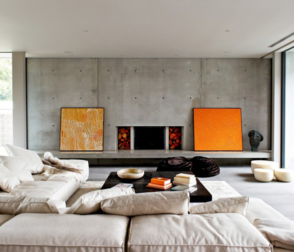Inspiration: Using Concrete in Your Home Design