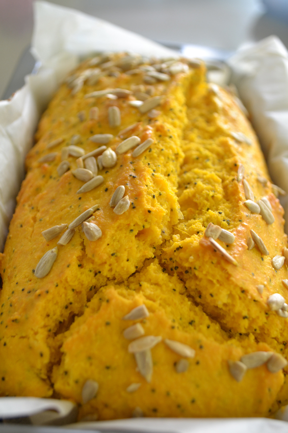 Recipe: Pumpkin, Polenta and Poppy Seed Loaf