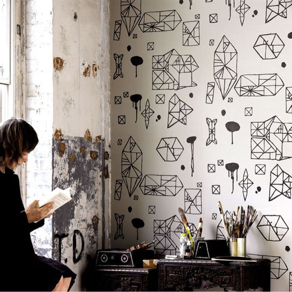 Inspiration: Decorating with Wallpaper