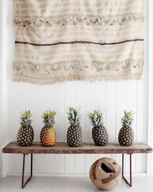 Inspiration: Pineapple Interiors Trend