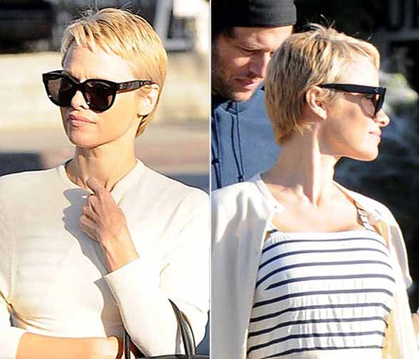 Trash Talk: Pamela Anderson's Dramatic New Pixie Hair Cut