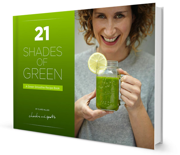 It's here! 21 Shades of Green: A Green Smoothie Recipe Book