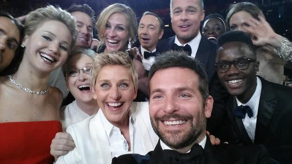Was This Selfie Some of The Best Product Placement Ever?