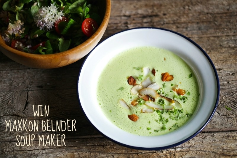 Giveaway: Maxkon Blender Soup Maker {Closed}