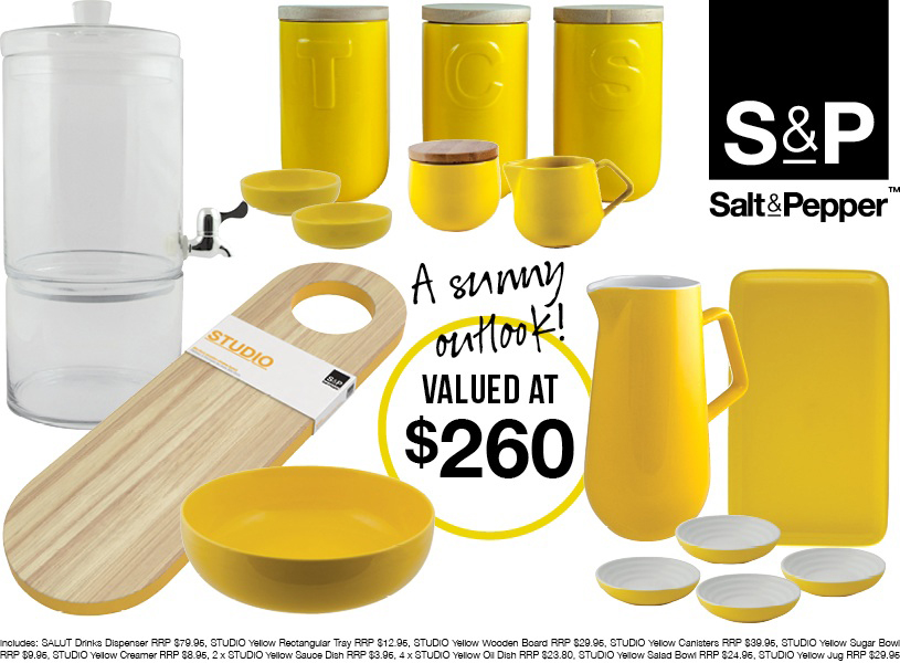 The Ultimate Salt&Pepper Summer Entertaining Giveaway! {Closed}