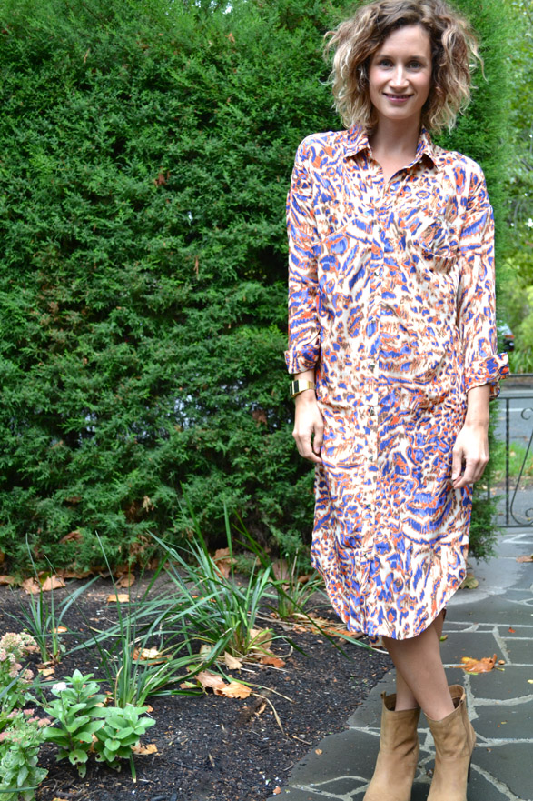 Premonition Shirt Dress