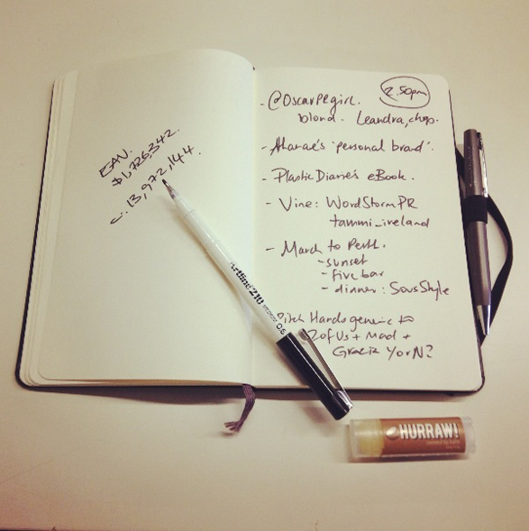Making lists from bookmarked websites - Tammi Ireland - Publicist