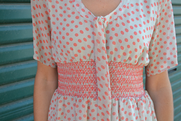 Fashionista Depot Spotted Dress Polka