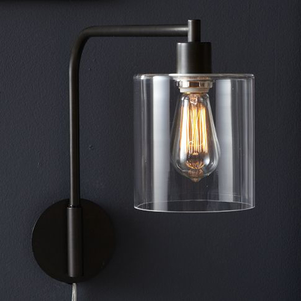 West Elm Lens Sconce