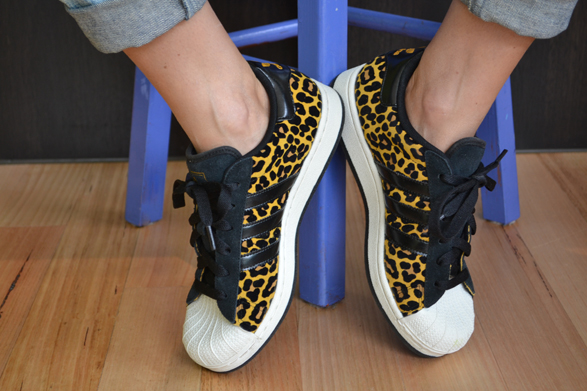 Adidas Originals Superstar II Animal Pack Animal Print