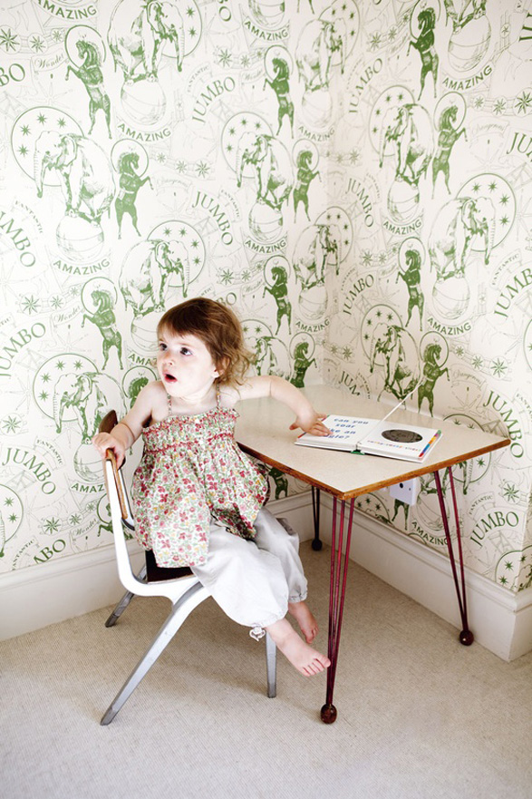 Kid's Playroom - Wallpaper