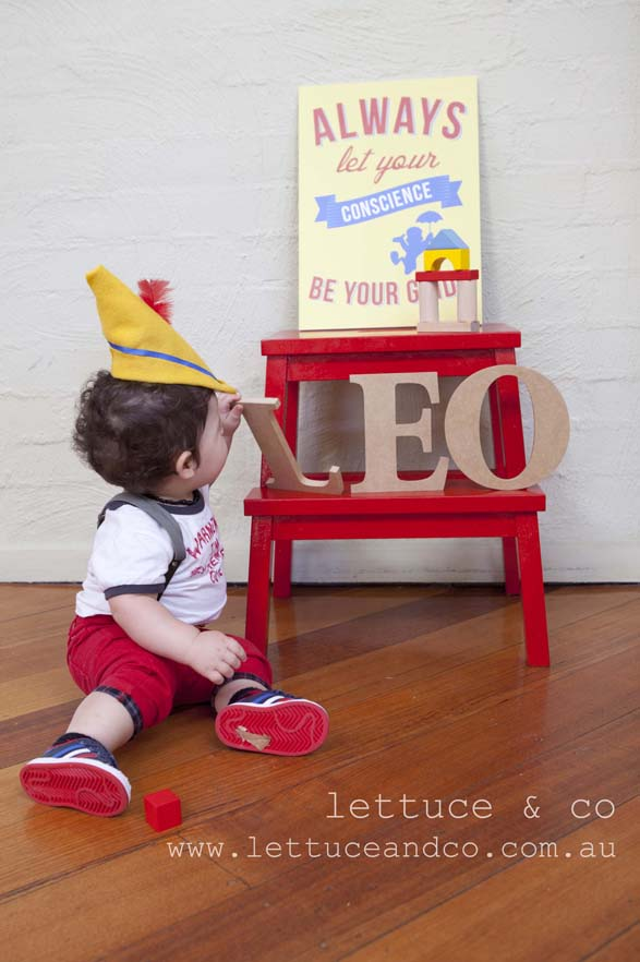 lettuce and co Pinocchio  birthday party