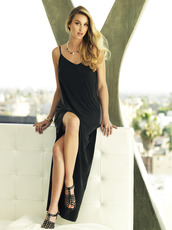 Whitney Port for Cooper St_The Valley Maxi