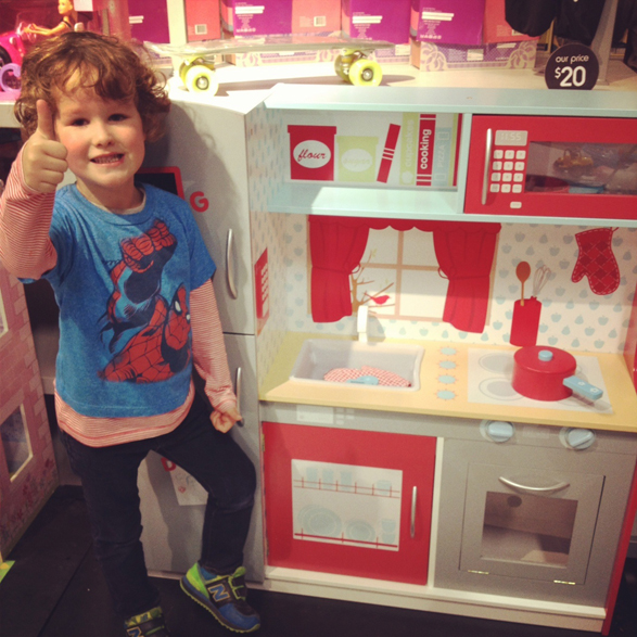 Kmart Wooden Kitchen Playset