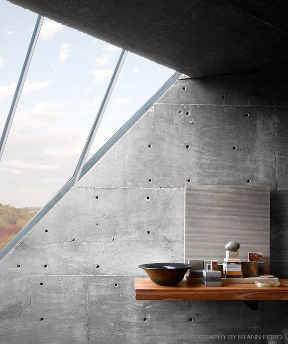 Concrete studio