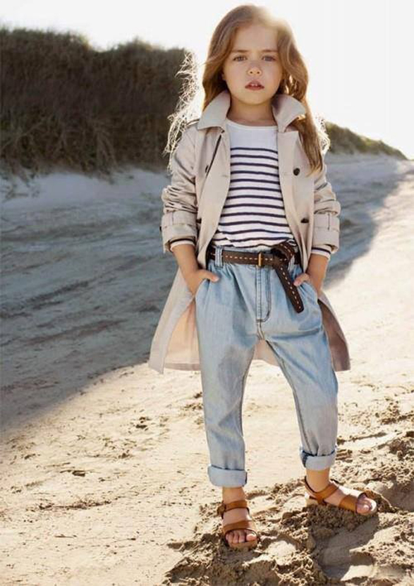 """Mommy, tell me the story of Brooke Shields' early career again while we walk in the sand."" - Quinoa"