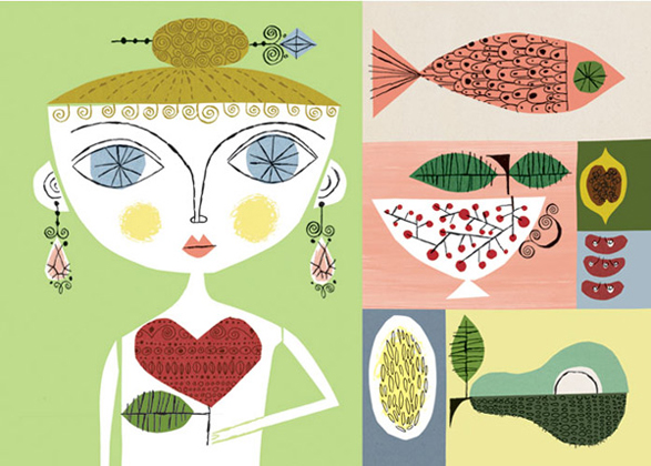Natural Health Illustration - Melinda Beck