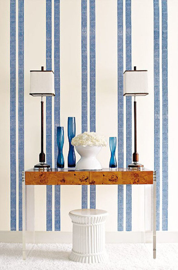 Decorating with wallpaper