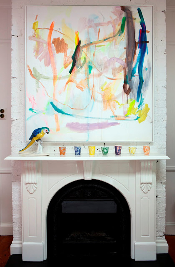 How to decorate a fireplace mantle