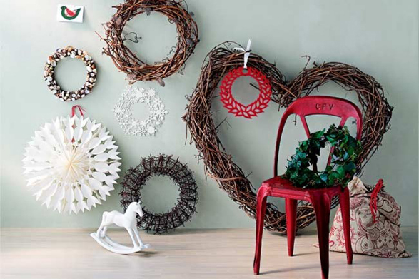 Christmas wreath ideas and inspiration