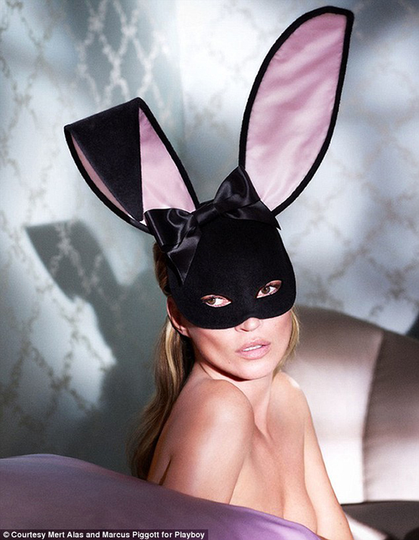 kate moss for playboy checks and spots