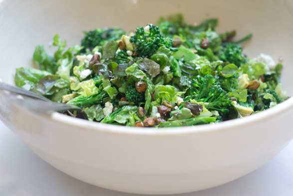 The Greenest Salad Recipe