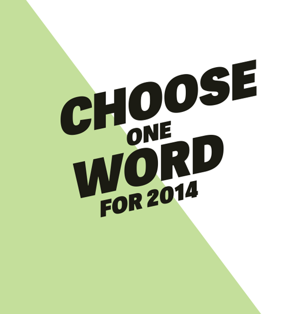 new years resolution choose one word theme