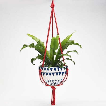 Mozi Ceramic Hanging Planter