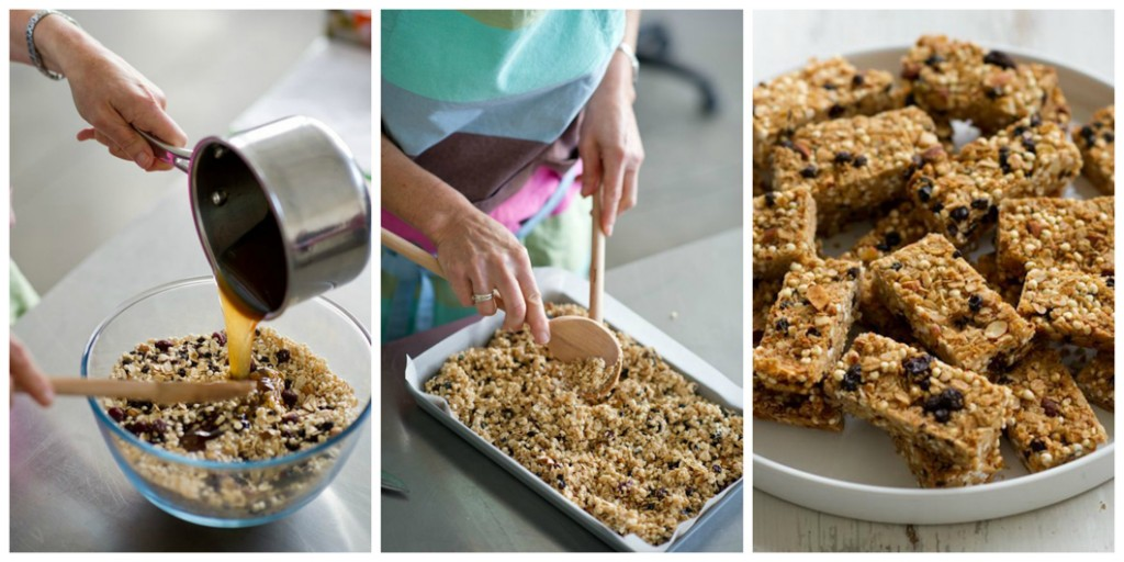 Honey and Nut Muesli Bar Recipe