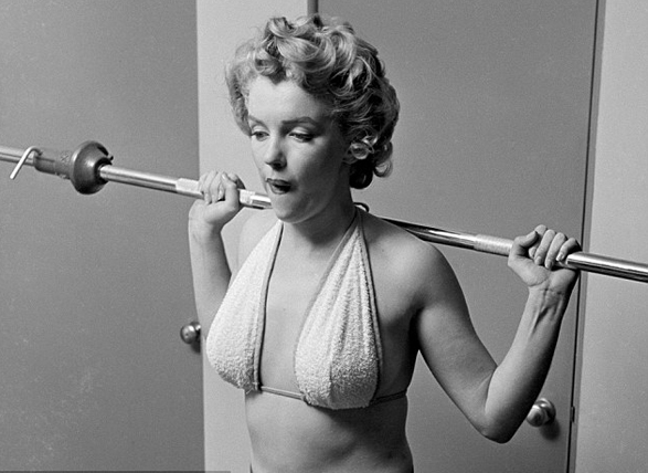 marilyn-monroe-exercise