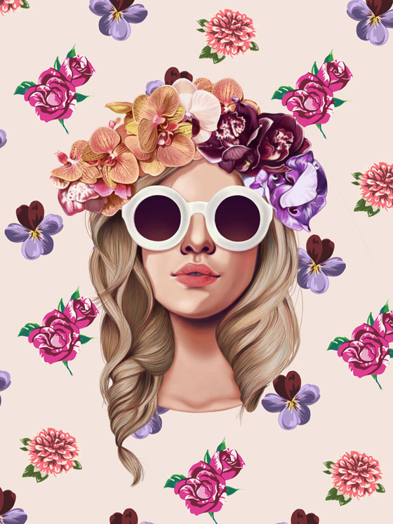 illustration-pretty-girl-erick-davila