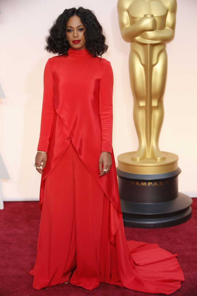 solange-knowles-oscars-2015-red-carpet