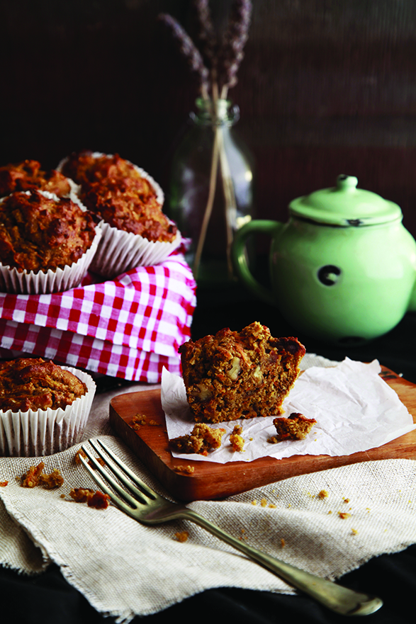 healthy-refined-sugar-free-carrot-cake-muffin-recipe