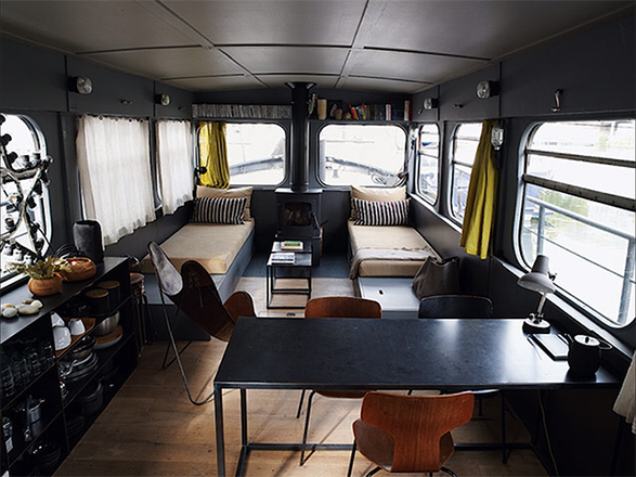 Boat Living : Three of the Best Houseboat and Barge Designs
