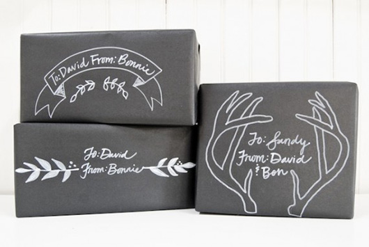 christmas-gift-wrapping-ideas-chalkboard-package