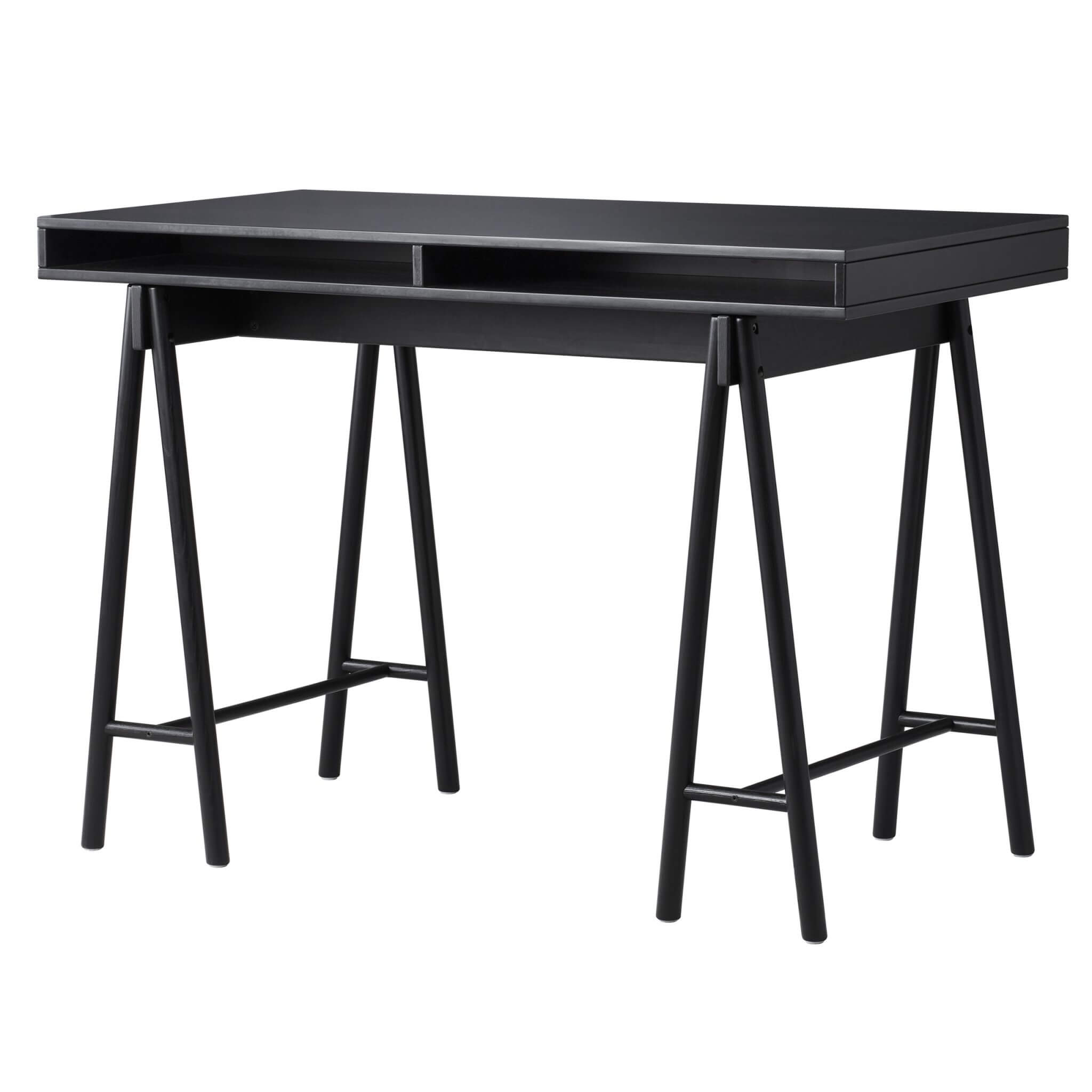 SPANST table top with trestles - $399 - IKEA